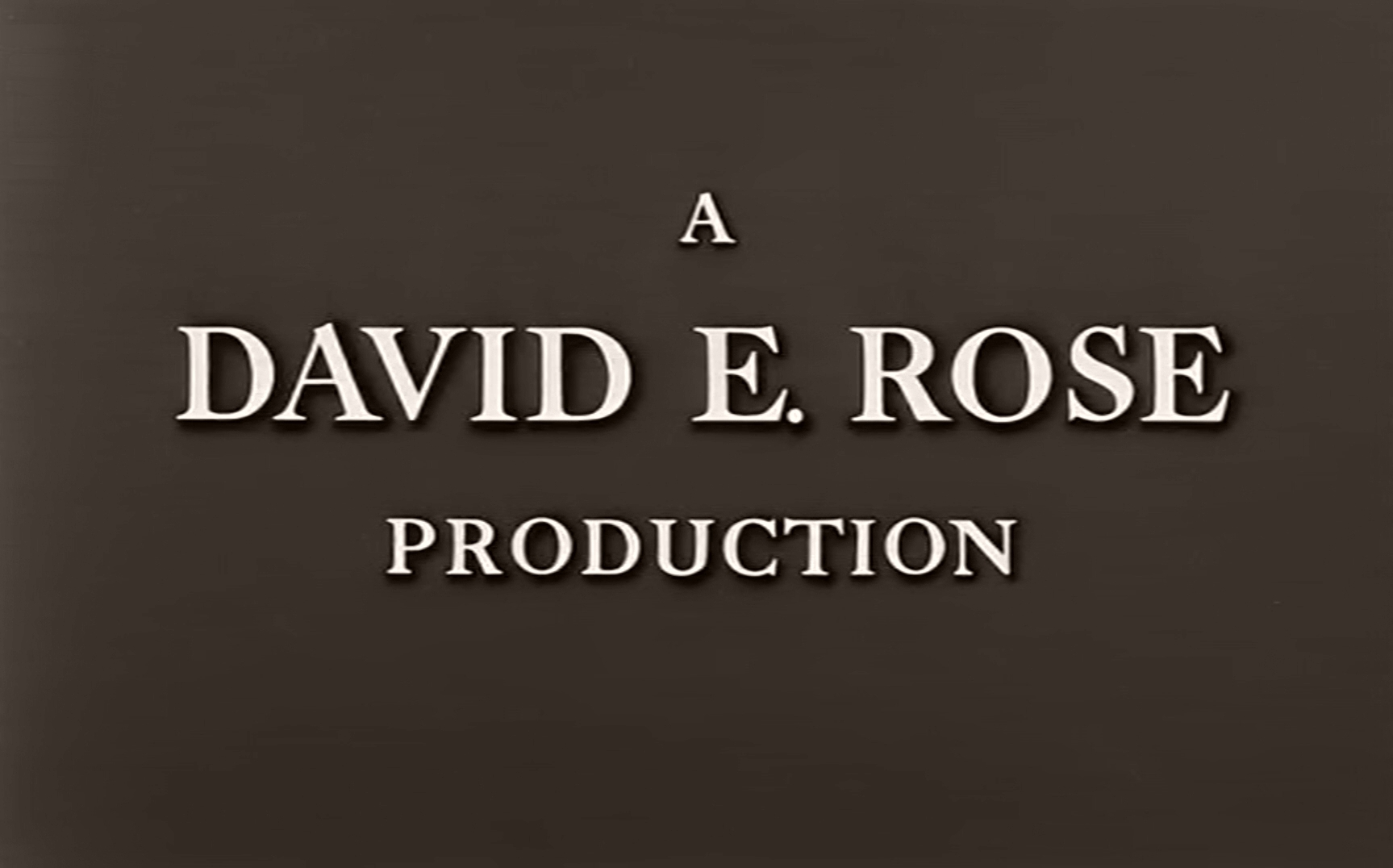 Main title from The End of the Affair (1955) (1). A David E Rose production