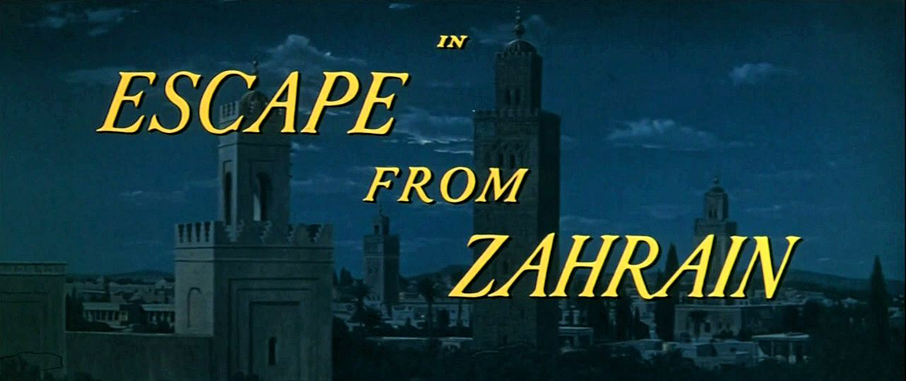 Main title from Escape from Zahrain (1962)