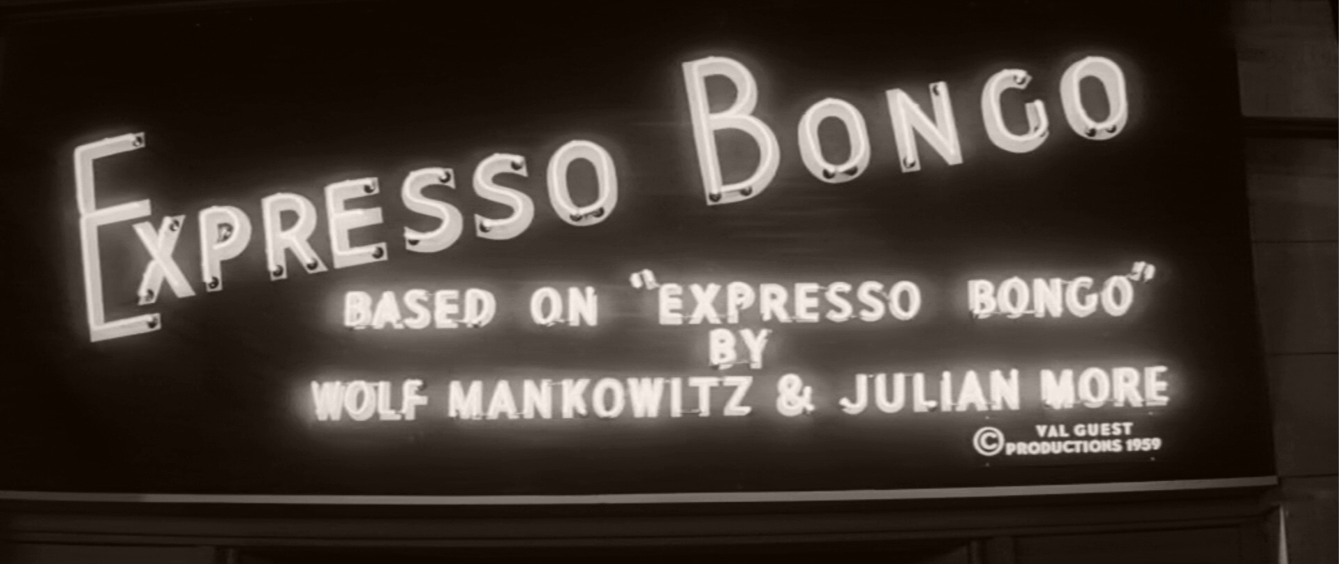 Main title from Expresso Bongo (1959) (6)