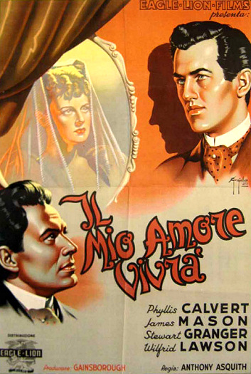 Italian poster for Fanny by Gaslight (1944) (4)