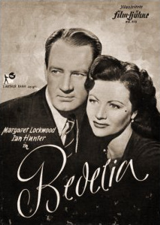 Illustrierte Film Bühne magazine with Ian Hunter and  Margaret Lockwood in Bedelia.  Issue number 313.  (German)