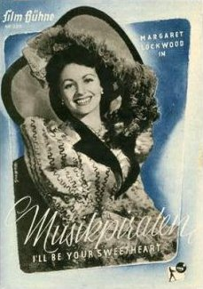 Film Bühne magazine with Margaret Lockwood in I'll Be Your Sweetheart.  1945.  (German).  Musikpiraten.