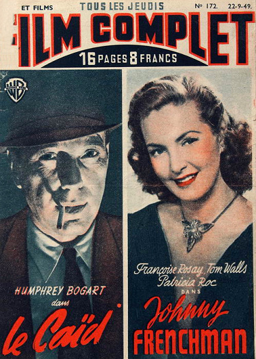 Film Complet magazine with Patricia Roc in Johnny Frenchman.  22nd September, 1949, issue number 172.  (French)
