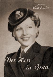 Film Kurier magazine with Phyllis Calvert in The Man in Grey.  Issue number 98.  (German).  Der Herr in Grau.