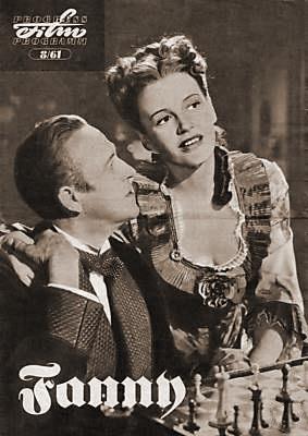 Film magazine with Stewart Granger and  Phyllis Calvert in Fanny by Gaslight.  (German)