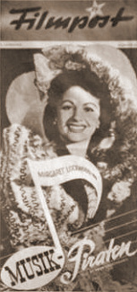Filmpost magazine with Margaret Lockwood in I'll Be Your Sweetheart.  Issue number 57.  (German).  Musick Piraten.