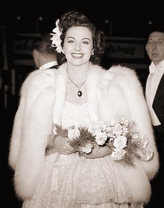 Margaret Lockwood looks radiant as she attends a film premiere