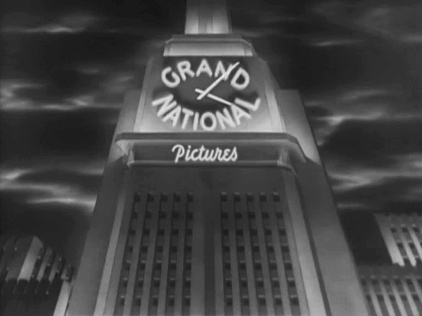 Main title from Four Days (1951) (1). Grand National Pictures