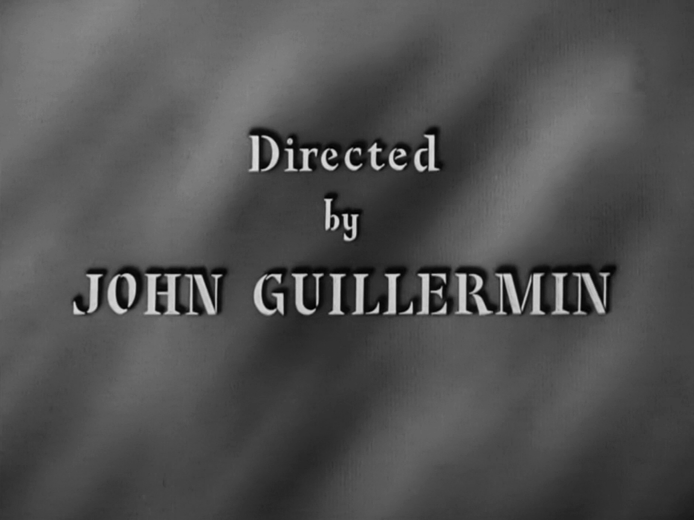 Main title from Four Days (1951) (11). Directed by John Guillermin