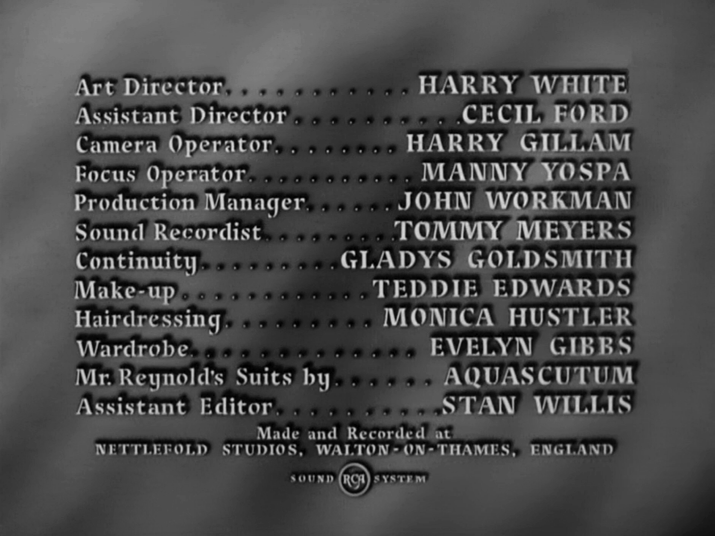 Main title from Four Days (1951) (7)