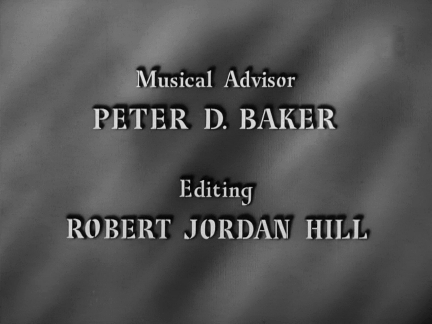 Main title from Four Days (1951) (8)
