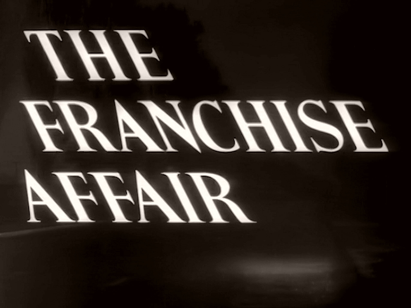 Main title from The Franchise Affair (1951) (1)