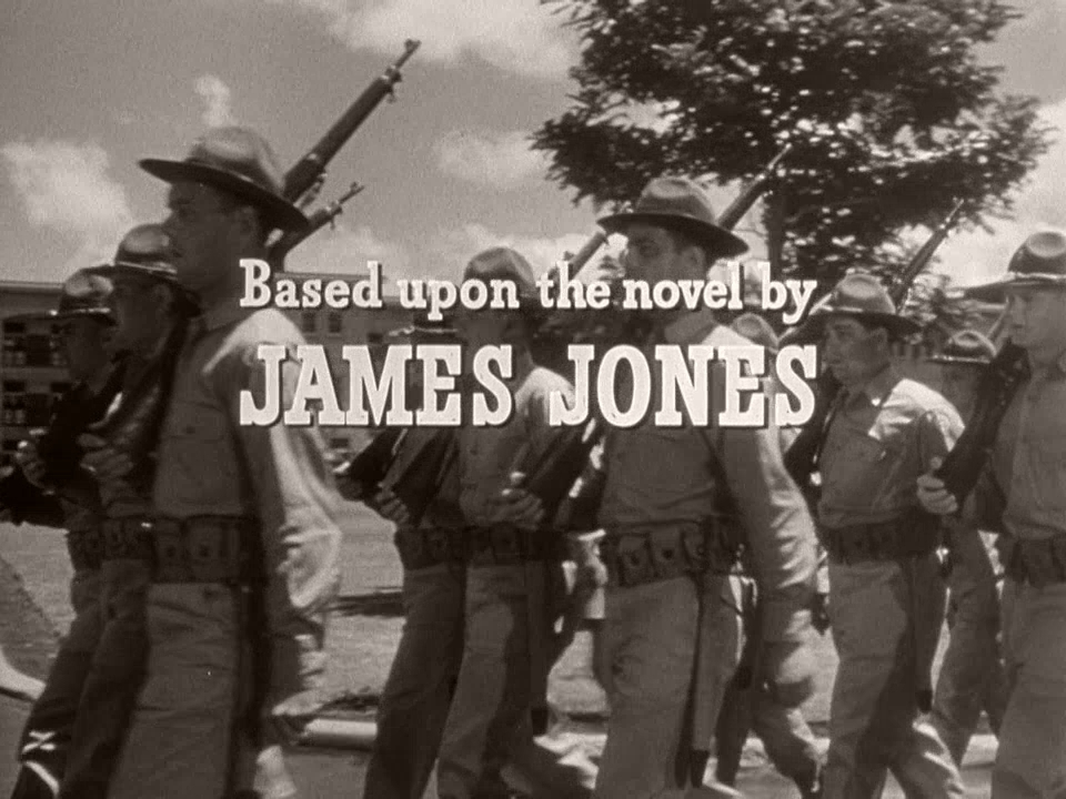 Main title from From Here to Eternity (1953) (11).  Based upon the novel by James Jones