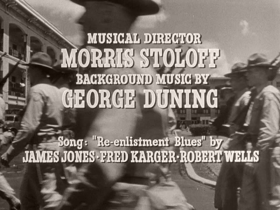 Main title from From Here to Eternity (1953) (13)
