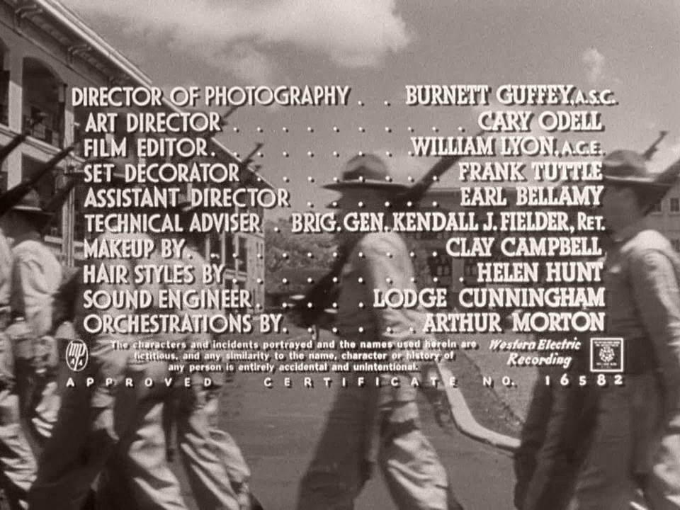 Main title from From Here to Eternity (1953) (14)