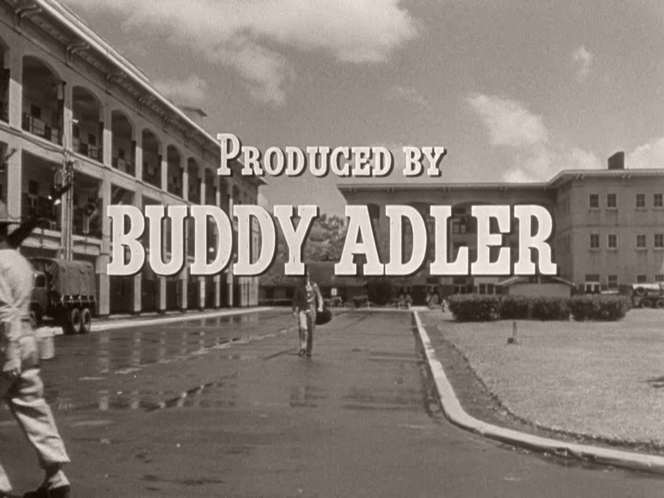 Main title from From Here to Eternity (1953) (15).  Produced by Buddy Adler