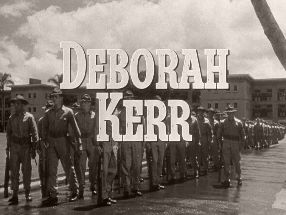 Main title from From Here to Eternity (1953) (6).  Deborah Kerr
