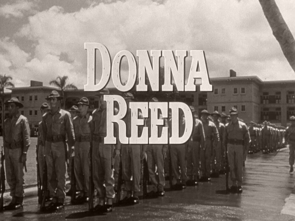 Main title from From Here to Eternity (1953) (7).  Donna Reed