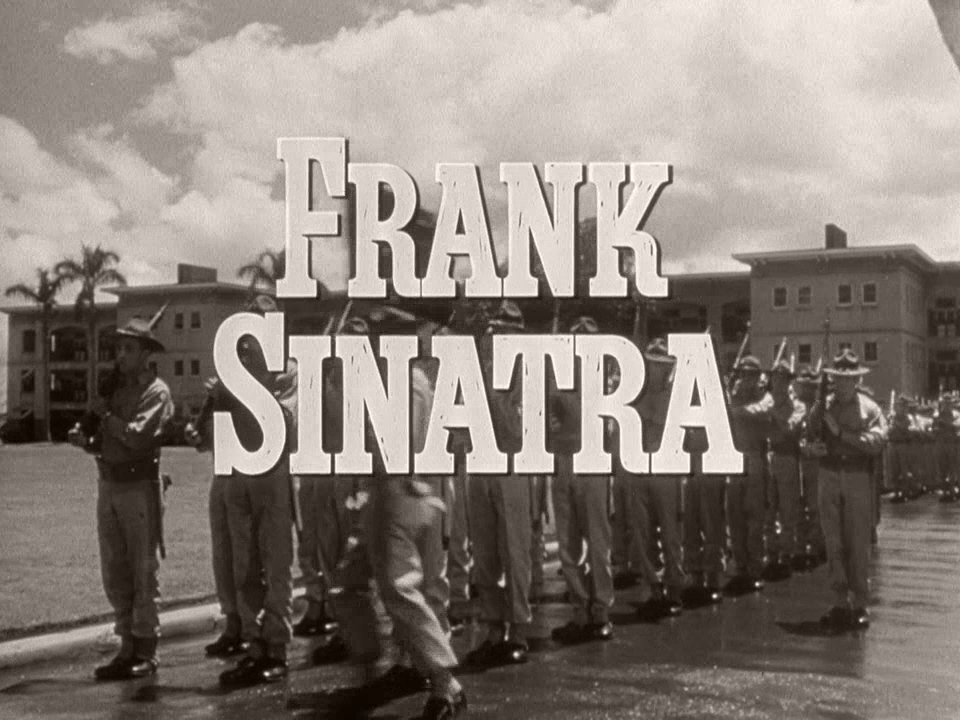 Main title from From Here to Eternity (1953) (8).  Frank Sinatra