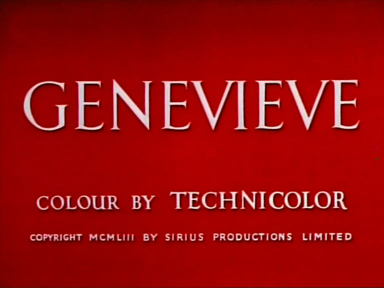 Main title from Genevieve (1953)