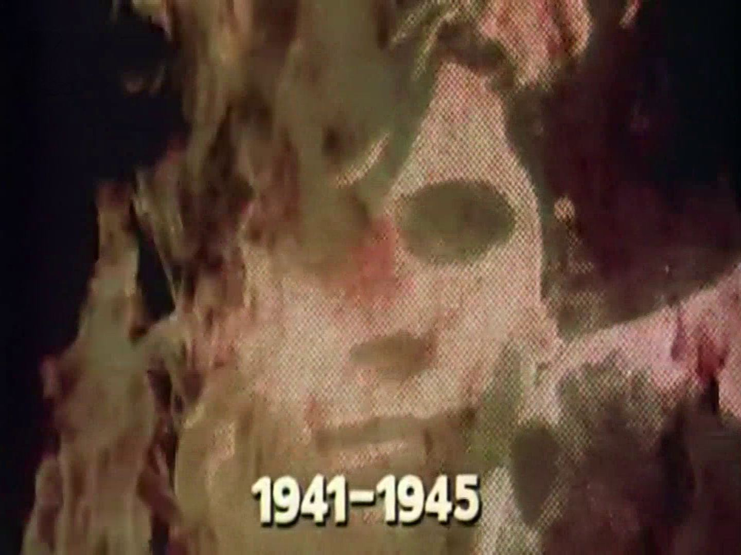 Main title from the 1974 'Genocide' episode of The World at War (1973-74) (2). 1941-1945