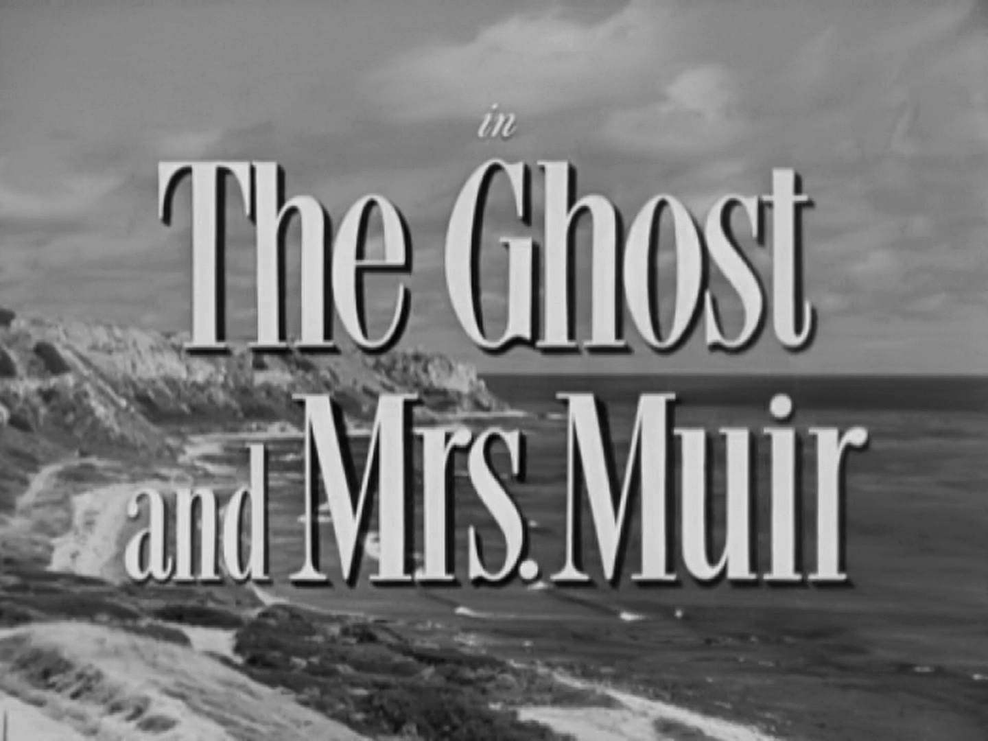 Main title from The Ghost and Mrs Muir (1947) (3)