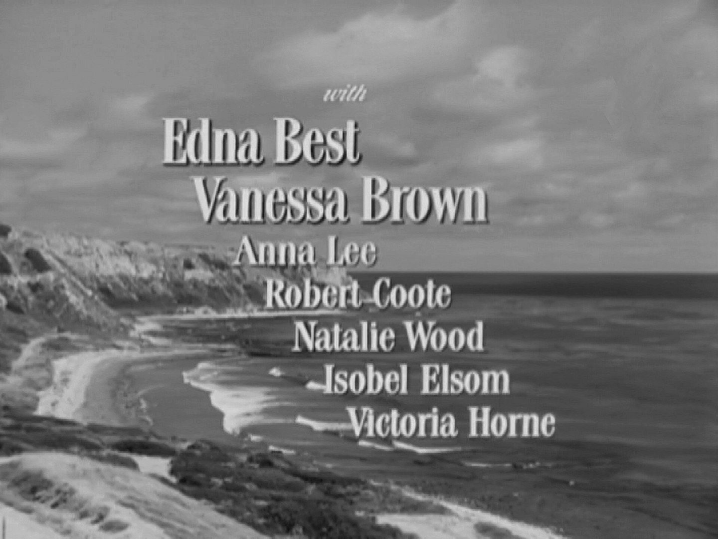Main title from The Ghost and Mrs Muir (1947) (4). Edna Best, Vanessa Brown, Anna Lee, Robert Coote, Natalie Wood, Isobel Elsom, Victoria Horne