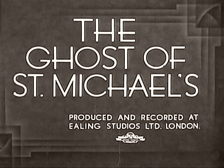 Main title from The Ghost of St. Michael's (1941)