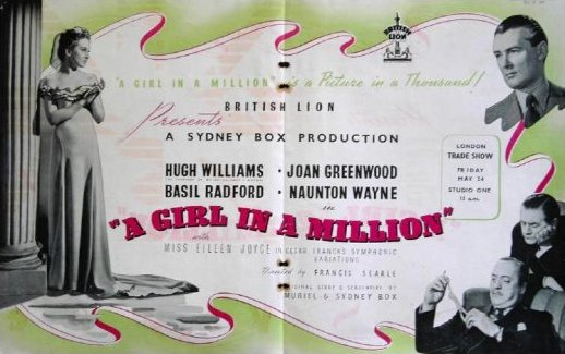 Poster for A Girl in a Million (1945) (1)
