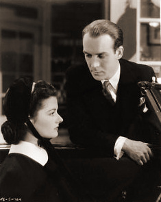 Margaret Lockwood (as Nurse Anne Graham) and Barry K Barnes (as Stephen Faringdon) in a photograph from The Girl in the News (1940) (14)