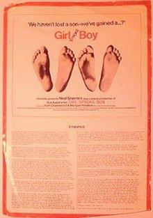 Poster for Girl Stroke Boy (1973) (2)