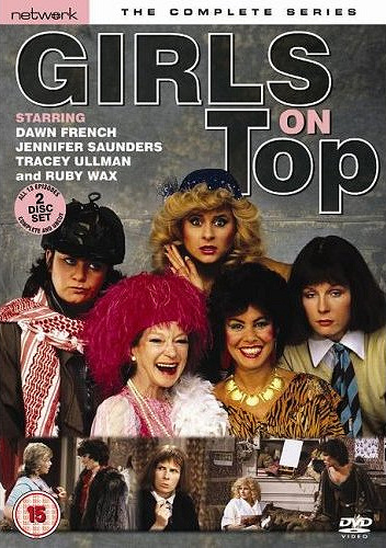 DVD cover of Girls on Top (1985-86) (1)