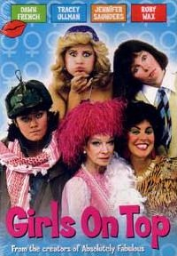 DVD cover of Girls on Top (1985-86) (2)