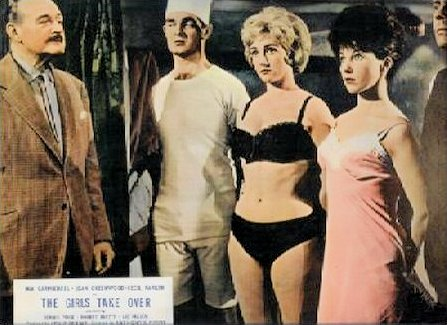 Lobby card from The Girls Take Over [The Amorous Prawn] (1962) (7)