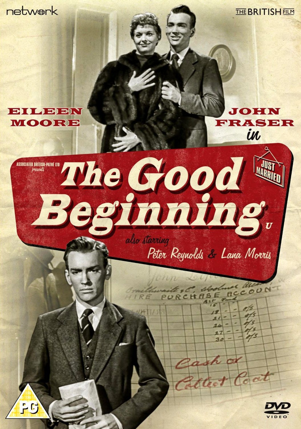 Good Beginning DVD from Network and The British Film (2015). Features Eileen Moore and John Fraser.
