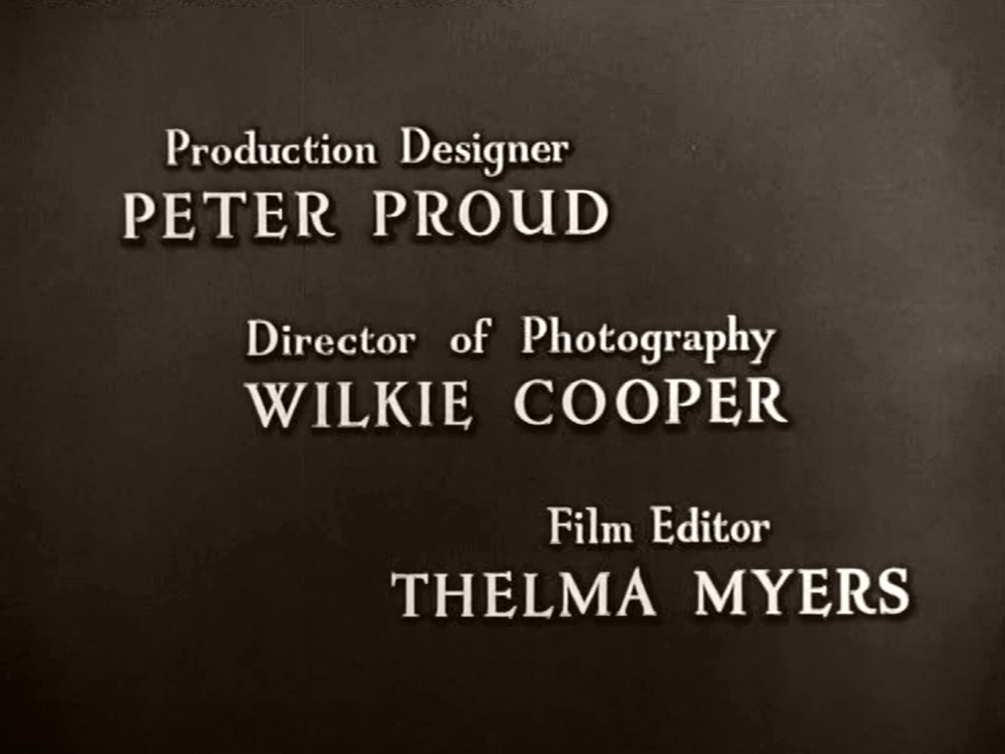 Main title from Green for Danger (1947) (7)