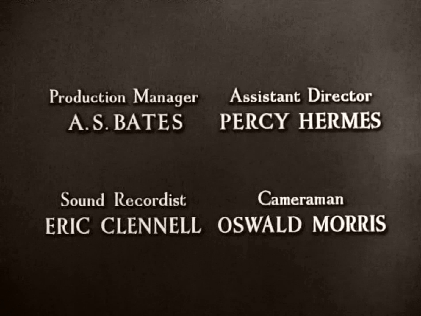 Main title from Green for Danger (1947) (8)