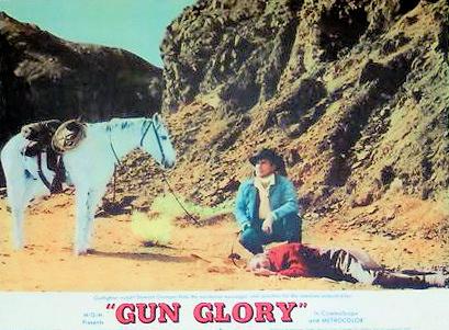Lobby card from Gun Glory (1957) (1)