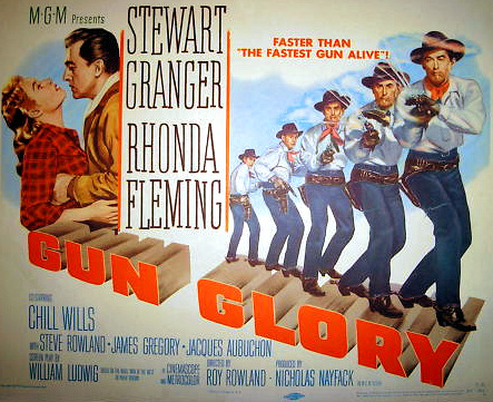 Lobby card from Gun Glory