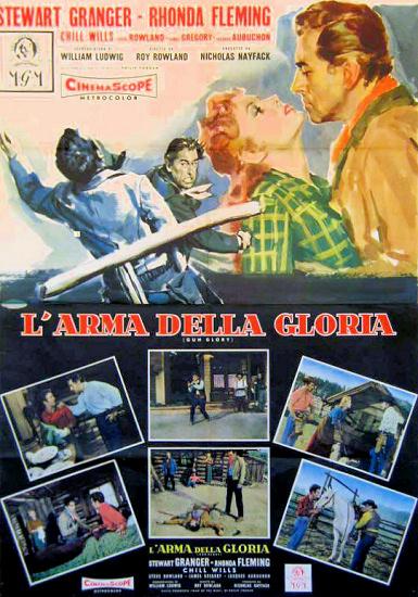 Poster for Gun Glory (1957) (2)