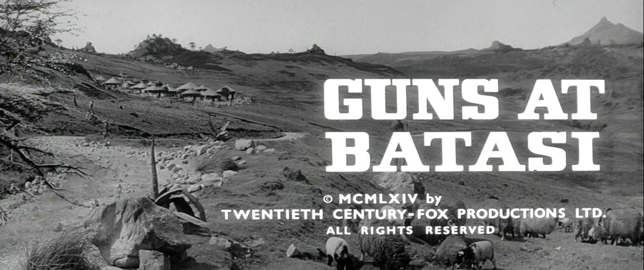 Main title from Guns at Batasi (1964)