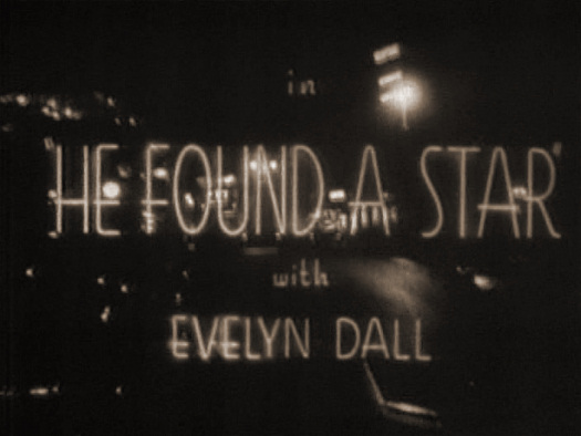 Main title from He Found a Star (1941)