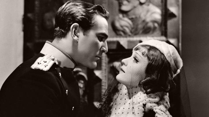 Henry Wilcoxon (as Capt Nicolai Ilyinski) and Anna Sten (as Maria Krasnova aka Maria Novikova) in a photograph from A Woman Alone (1936)