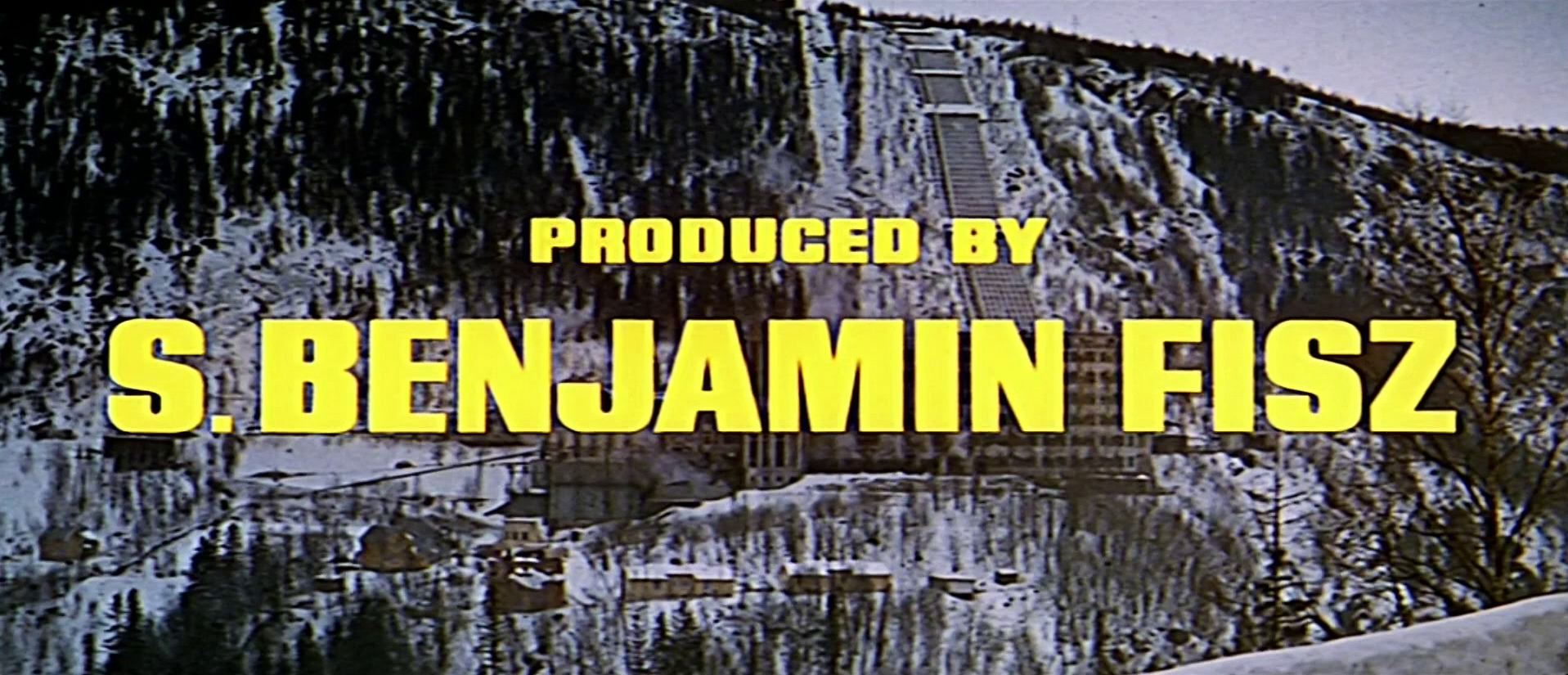 Main title from The Heroes of Telemark (1965) (17). Produced by S Benjamin Fisz