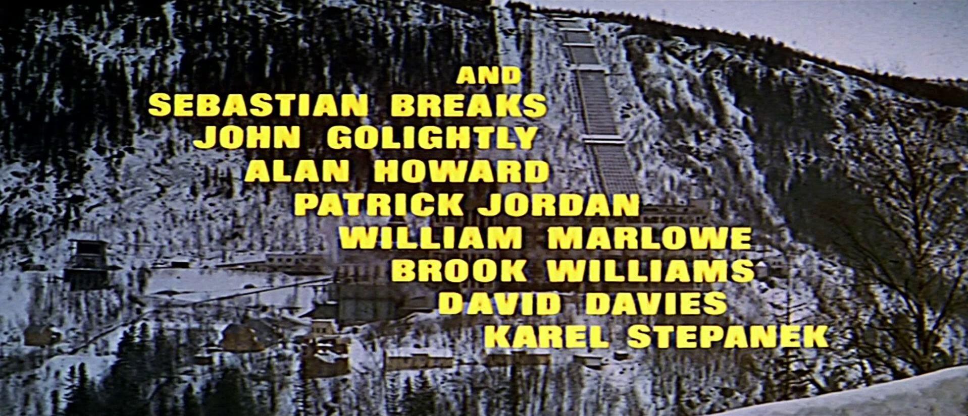 Main title from The Heroes of Telemark (1965) (7). And Sebastian Breaks, John Golightly, Alan Howard, Patrick Jordan, William Marlowe, Brook Williams
