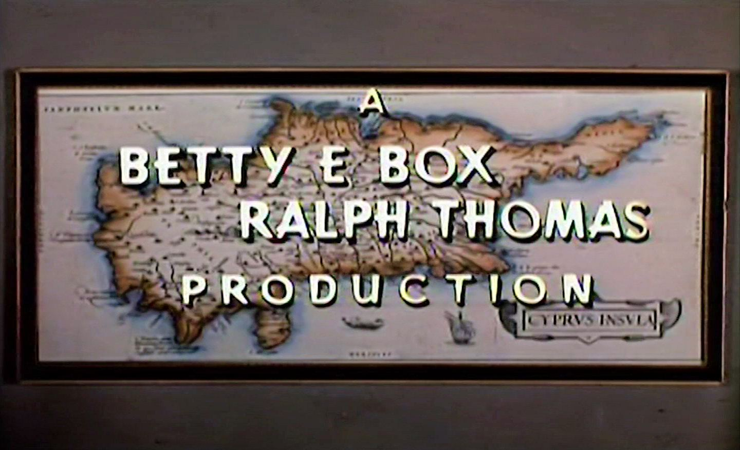 Main title from The High Bright Sun (1965) (2)