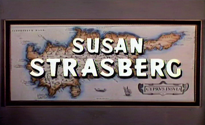 Main title from The High Bright Sun (1965) (5). Susan Strasberg