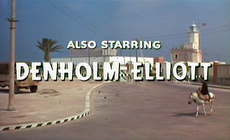 Main title from The High Bright Sun (1965) (7). Also starring Denholm Elliott