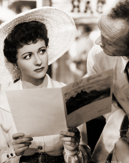 Margaret Lockwood (as Frances Gray) in a photograph from Highly Dangerous (1950) (12)