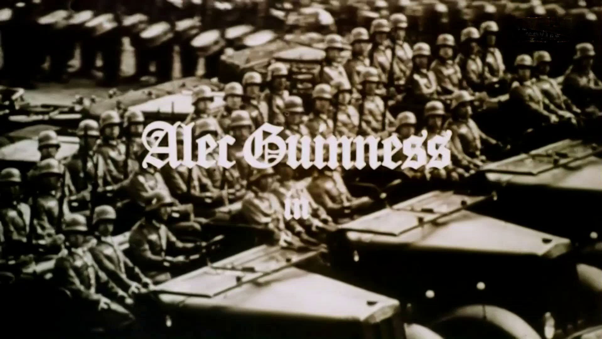 Main title from Hitler: The Last Ten Days (1973) (1). Alec Guinness in